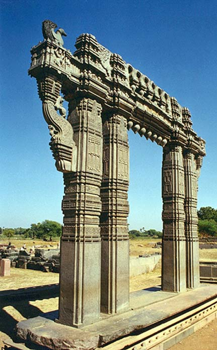 View of Kakatiya Kala Toranam at Warangal