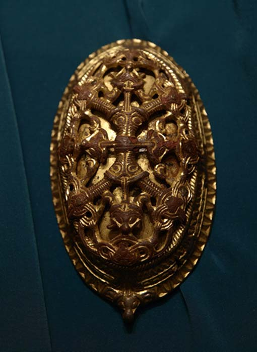 Viking oval brooch. Museum of History, Oslo, Norway. (CC BY-SA 2.0)