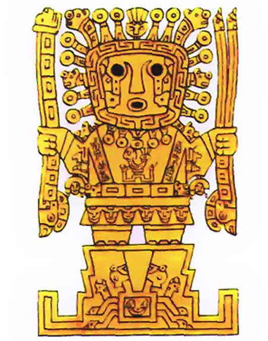 Viracocha (Public Domain)