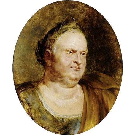 A portrait of Vitellius by Peter Paul Reubens