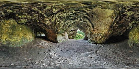 Cueva Vogelherd panorama