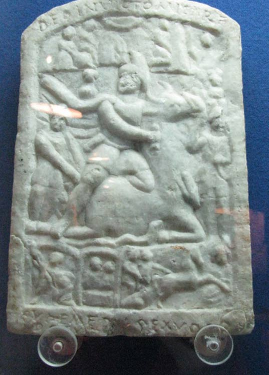 Votive Relief Dedicated to Mithras by Euhemerus.