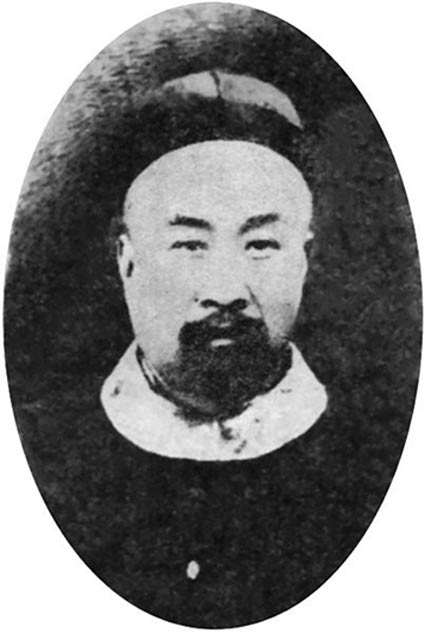 Wang Yirong, Chinese politician and scholar, was the first to recognize the oracle bones as ancient writing.