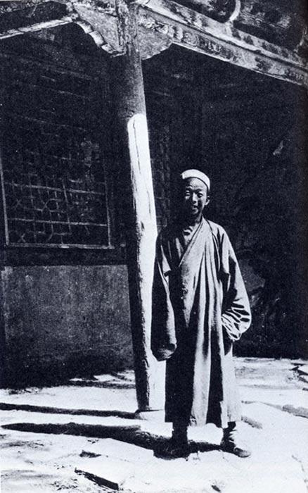 Early Photo of Wang Yuanlu.