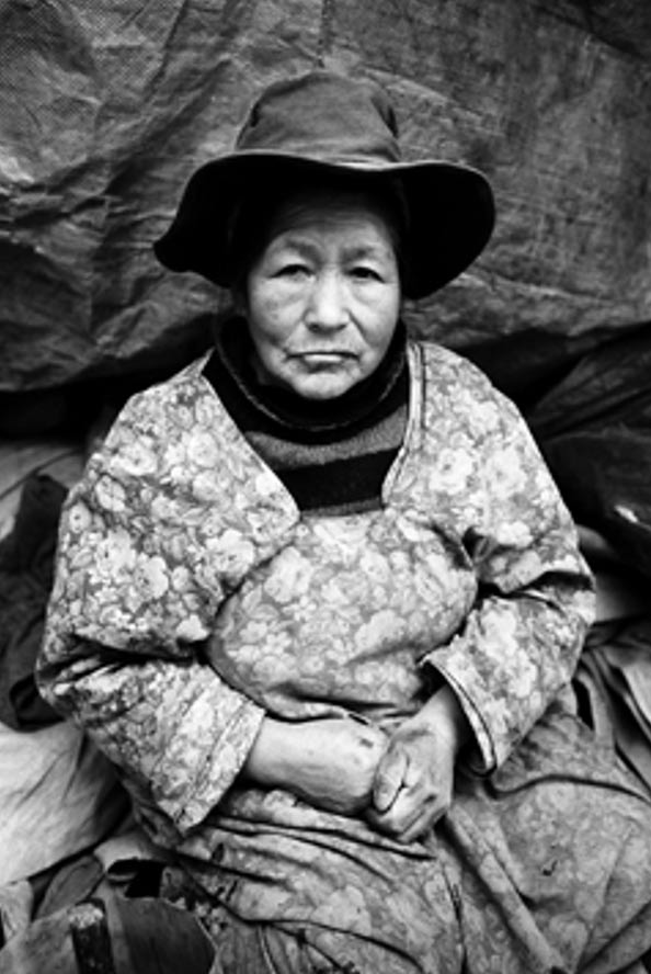 Widow of the Mines, Potosí, Bolivia 2004.