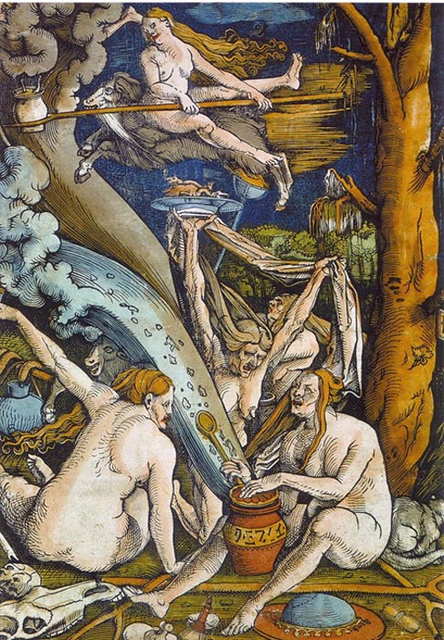 Witches, a 1508 painting by Hans Baldung