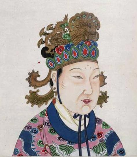 Wu Zetian, Empress in the Tang Dynasty Harem