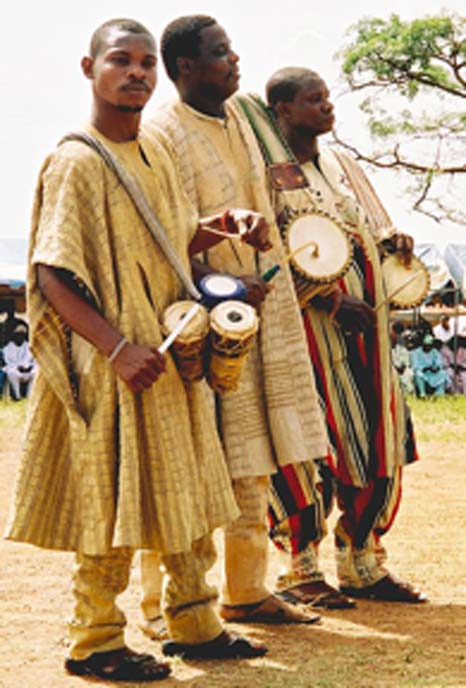 Yoruba drummers at celebration in Ojumo Oro. (Marin H. / CC BY-SA 2.0)