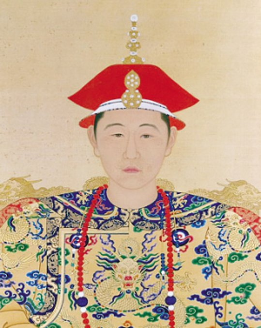 Young Kangxi Emperor, age about 20. (Public Domain)