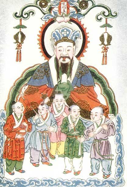 Zao Jun - The Kitchen God.