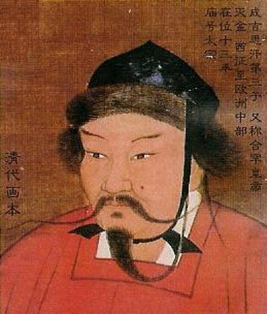 Ogedei Khan. (Public Domain) Khutulun's father Kaidu was a grandson of this Khan.