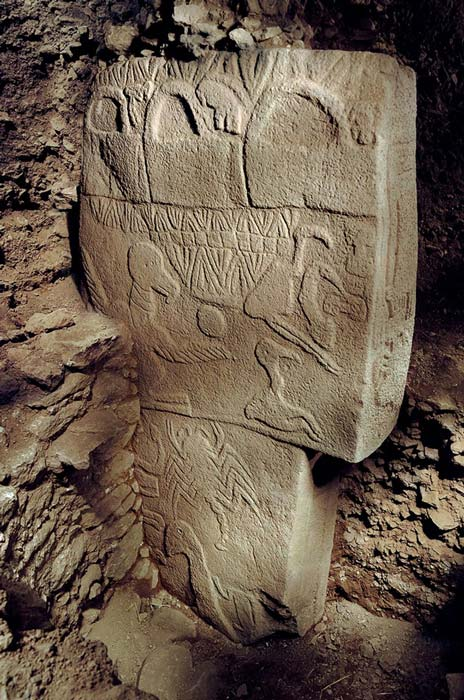 This is a pillar from what archaeologists call Building D at Gobekli Tepe.