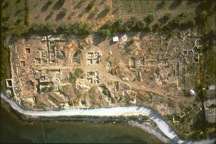 The remains of the acropolis of Halai