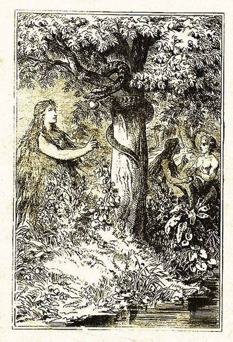 Lilith, the first wife of Adam.