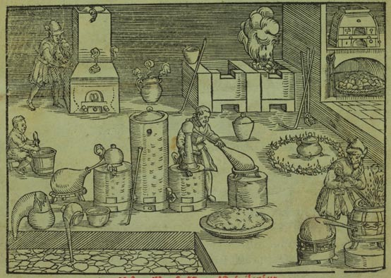 Alchemist workshop