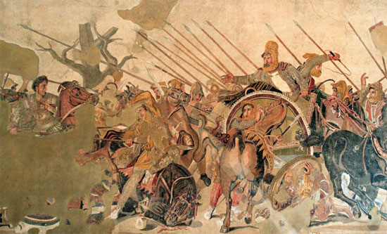 Defeat of Darius III by Alexander
