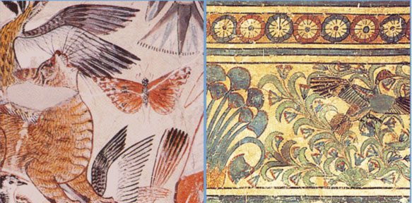 Naturalistic artwork from Amarna