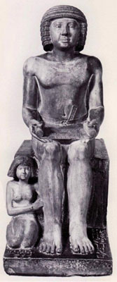 The full statue of Sekhemka
