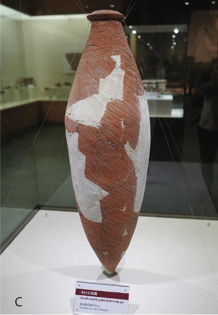 One of the ancient amphorae unearthed at the site, restored and used in the study. (Li Liu / Yongqiang Li / Jianxing Hou)