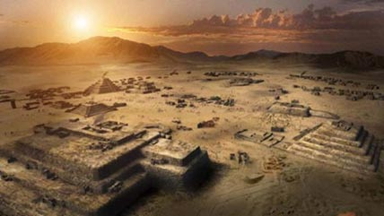 The ancient city of Caral