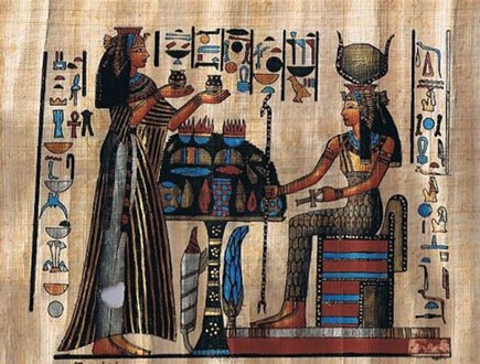 Ancient Egyptians healing