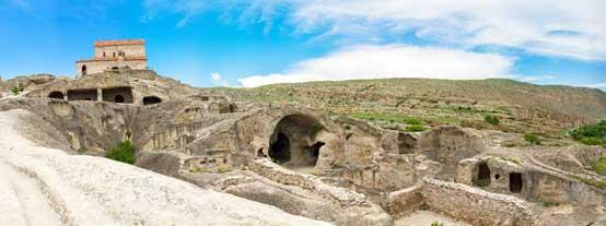 The ancient rock city of Uplistsikhe
