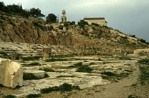 The ancient ruins of Eleusis