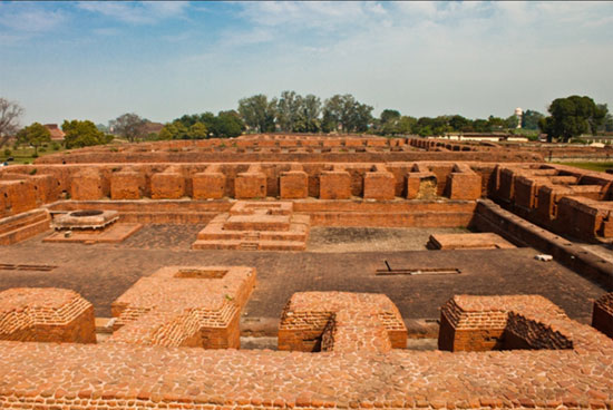 Ancient University of Nalanda, dormitories