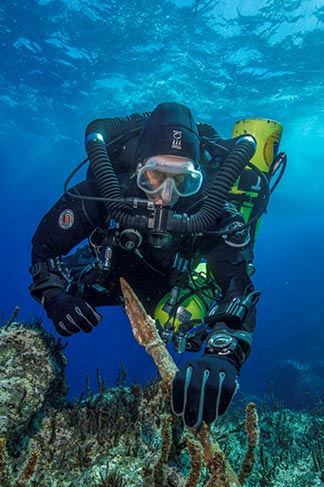 Antikythera project chief diver Philip Short
