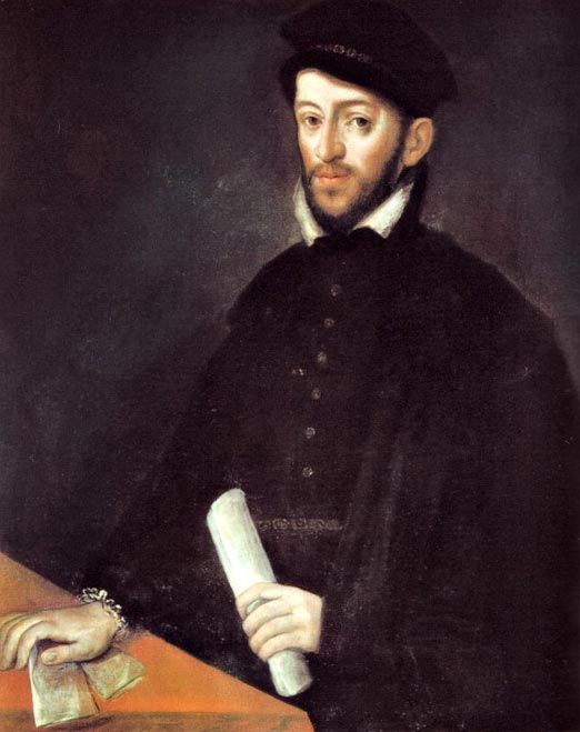 Portrait of Antonio Perez, former secretary of Felipe II, diffuser of the black legend about the Spanish Inquisition in England and France. Antonio Ponz work