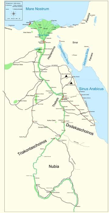 Prince Akinidad Of Kush And The One Eyed Kandake In The Meroite - Map of egypt kush