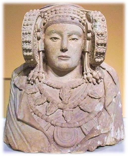 Lady of Elche artifact in Spain. (Provided by the author)