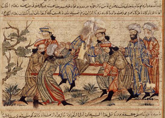 اغتيال نظام الملك السلجوقي من قبل الحشاشين