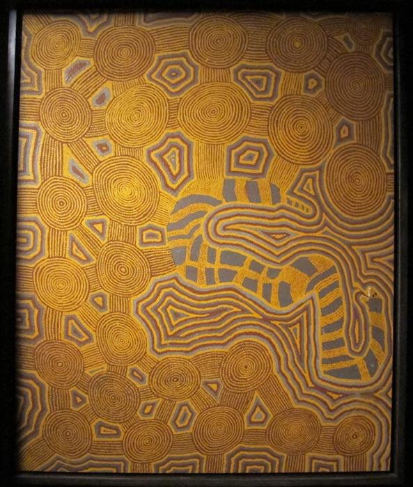 Indigenous Australian art.