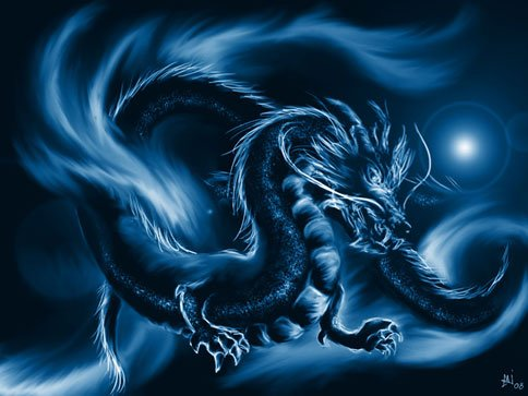 The Azure Dragon of the East
