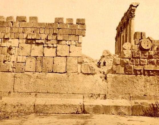 The Temple of Jupiter, Baalbek