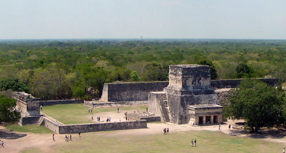 The Great Ball Court of Chichen Itza