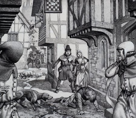 The Black Death was one of the most deadly pandemics in recorded history