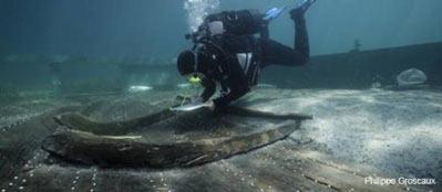 Boat wreck in Croatia
