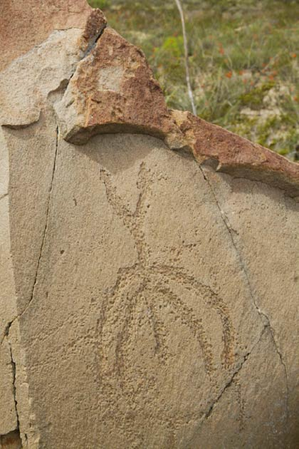 Some of the petroglyphs at Boca de Potrerillos are thought to be astronomical markers, maps, or a precursor to writing. (theneonjaguar /Adobe Stock)
