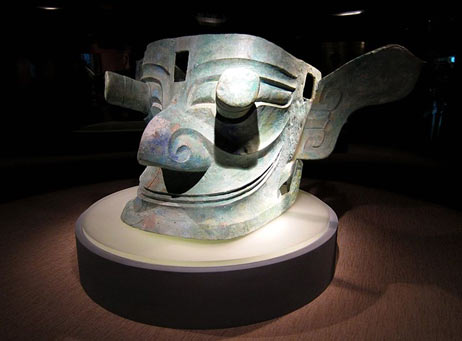 Bronze Head - Sanxingdui China