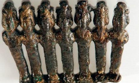 Bronze Osirian statuettes