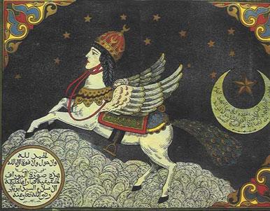 Muhammad's winged horse, Buraq