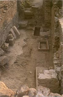 Burial complex at San Calocero, Italy