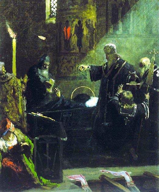 Burial of Alexander Nevsky. (Shakko / Public Domain)
