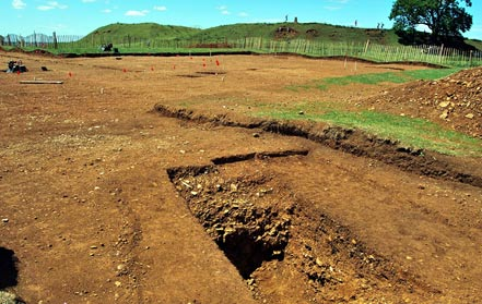 Burrough Hill Excavations