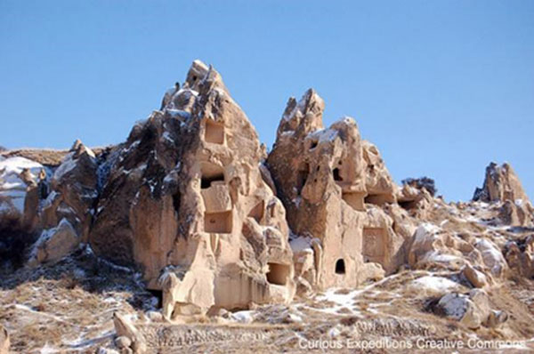 The Rock Houses and Underground Cities of Cappadocia