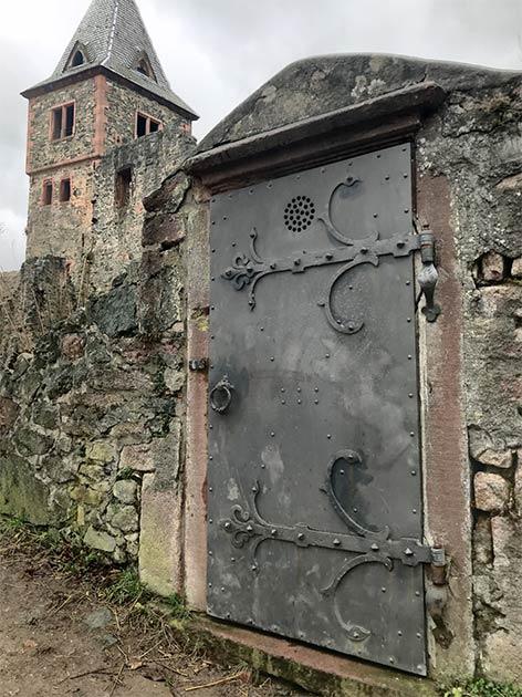 Frankenstein Castle door (Kim Warden / Adobe Stock)