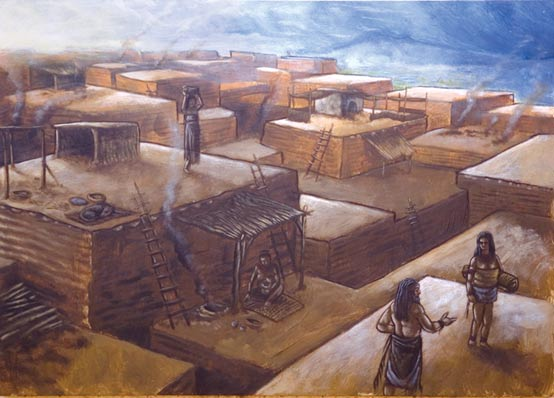 Çatalhöyük was a street-less settlement of houses