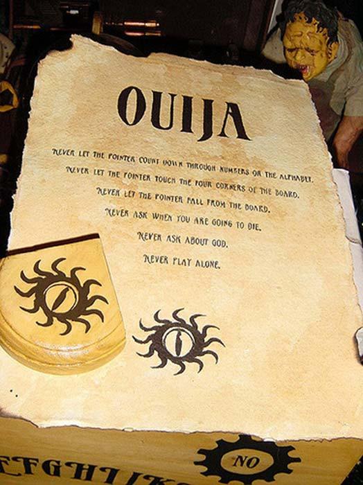 20th century Ouija Board 'Rules'